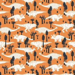 Dinosaurs - Medium - Pumpkin