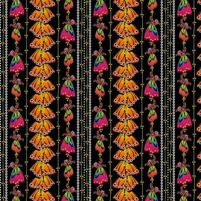 Floral Fantasy Stripe