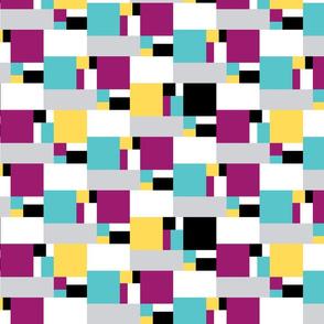 color block golden ratio double step large 2b