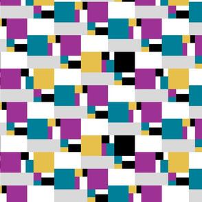 color block golden ratio double step large 2c