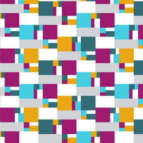 color block golden ratio double step large 2f