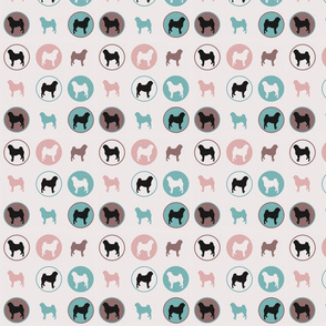 pugs in circles