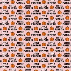 "(1/2"" scale) little pumpkin - halloween - pink C19BS"