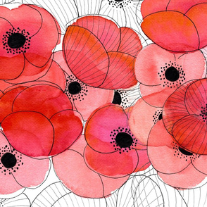 Poppies - small