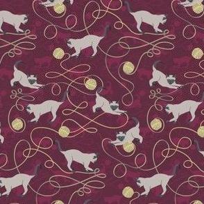 Kittens - purple