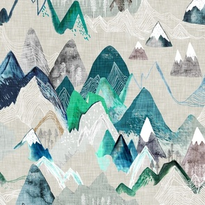 Call of the Mountains (evergreen) LRG