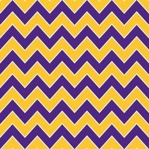 vikings chevron fabric - sports team fabric - purple and yellow fabric, american football fabric, sports teams fabric - minnesota