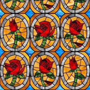 Framed Glass Beauty Rose