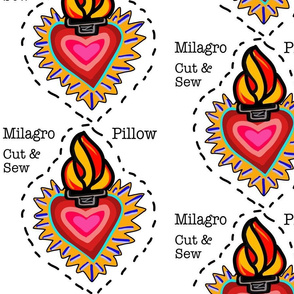 Milagro Cut & Sew Pillow