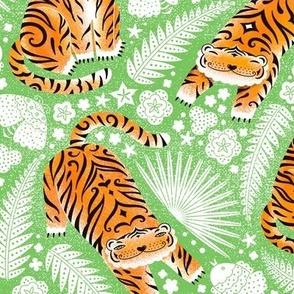 Little orange tigers