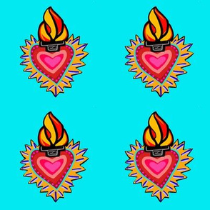 Hearts on Fire Turquoise