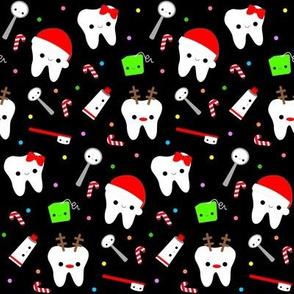 Happy Santa Teeth - Black