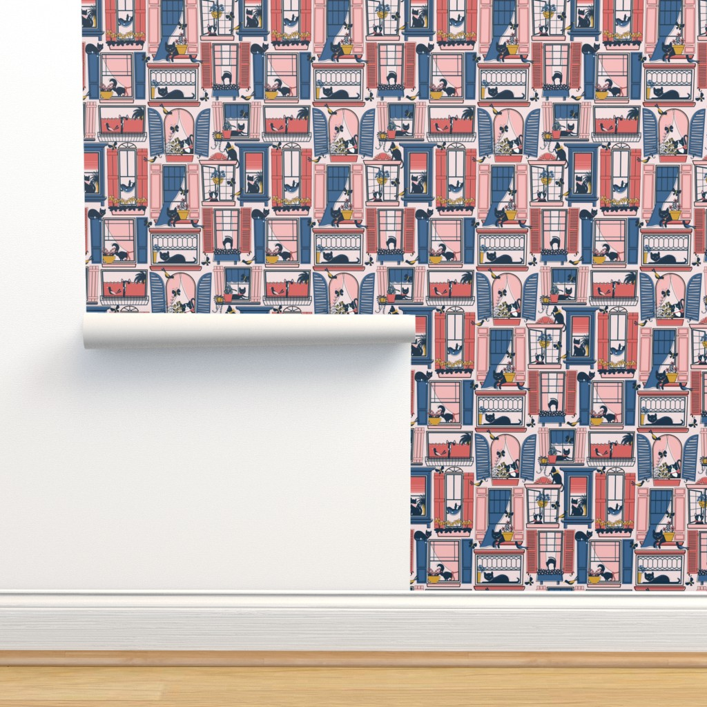 Isobar Durable Wallpaper featuring Urban Jungle Cat by nanshizzle