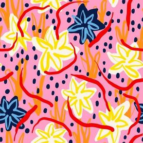 Modern Garden - Pink
