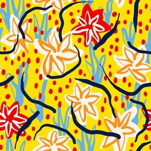Modern Garden - Yellow
