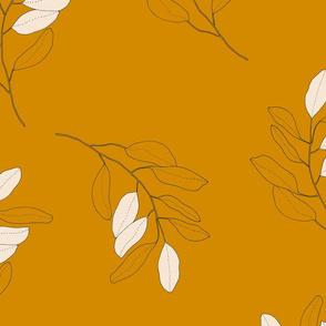 jumbo branch on amber