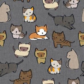 Cats {Charcoal}