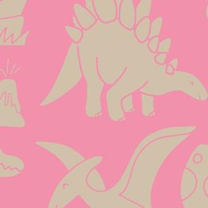 Pink Dinosaurs