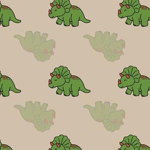 triceratop dinosaurs