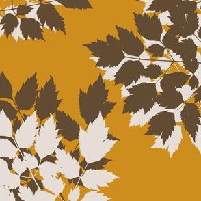 Autumn Leaves Amber