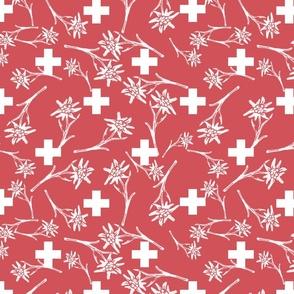 Edelweiss - Swiss Fun Flag