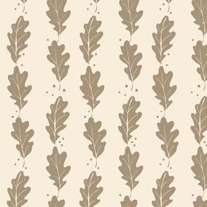 Oak Leaf Fall Autumn Neutral