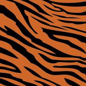 Tiger Print (small-scale) // Dark