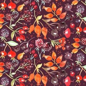 Autumn Berries - Dark