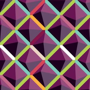 Deep Violet Color Block (Large Scale) by ArtfulFreddy