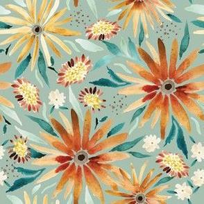 Amber-Sunflower-fields-sage 6x6