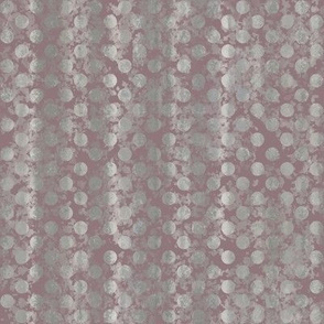 Dots Rose Taupe Gray