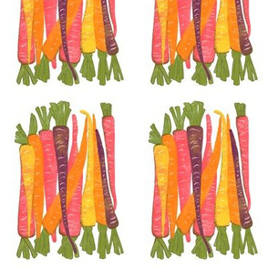 colorful carrots