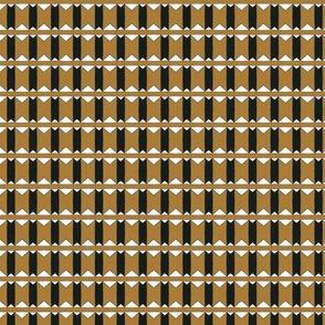 gold geometric