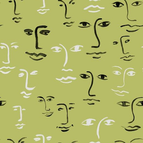 mixed faces - spring