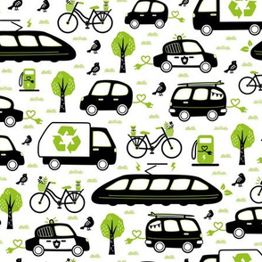 eco cars & vehicles - small size