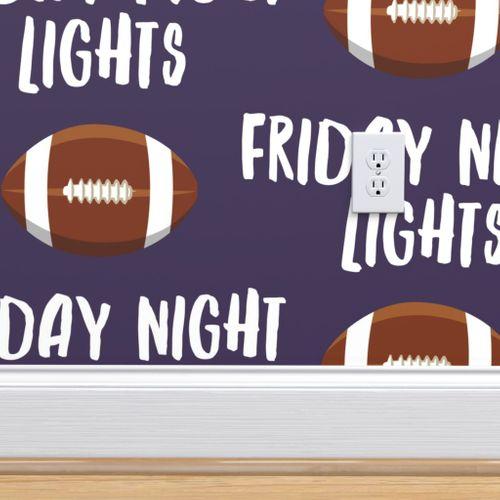 Wallpaper Friday Night Lights Football Purple Lad19