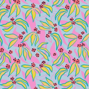 Berry Flower - Pink