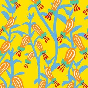 Flower Drops - Yellow