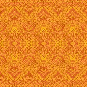 Note book mosaic desert