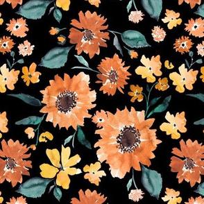 IBD Pumpkin spice sunflowers 7x7
