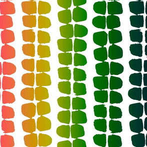 String of beads - ombre large