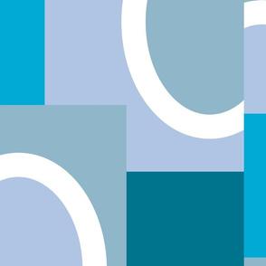 Blue Color Blocks