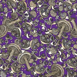 Mushroom Majesty Purple