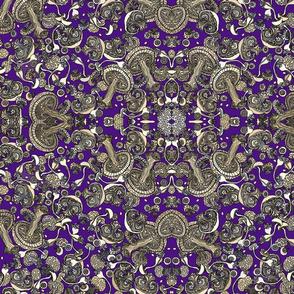 Mushroom Deep Purple Blu