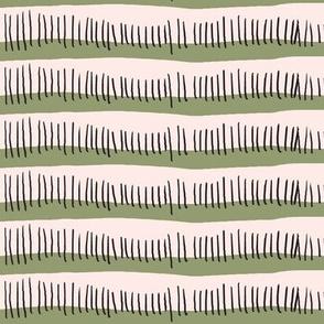 Rad-ish stripe pink/green