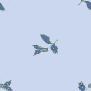 Peony Blue Coordinate