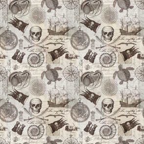 Pirates Of The Seven Seas Pattern