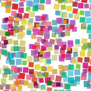 rainbow color blocks