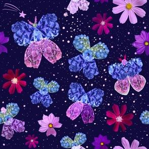 Hydrangea Moths in the Cosmos