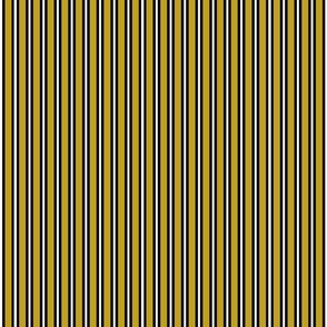 Mustard Halloween Stripes